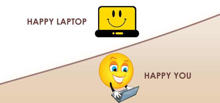 Happy Laptop Happy You